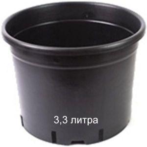 Горшок для растений Vasa Nera Serie Bassa 3,3 л