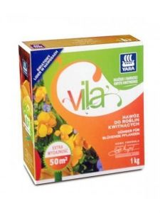 Удобрение Vila для цветущих растений