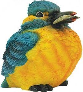 Фигурка декоративная Птичка с рыбкой