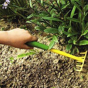 Грабельки садовые DE LUXE