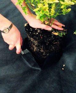 Рулон черного агроволокна 60 г/м.кв, размер 3,2х100м