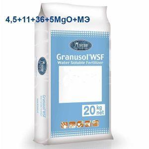 Удобрение Granusol WSF 4,5+11+36+5MgO+МЭ+MV10
