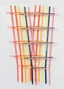 Пластиковая опора Лесенка, 40 см