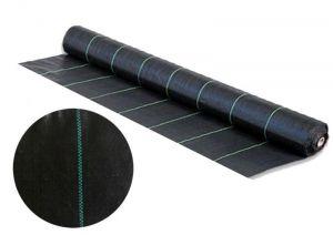 Черная агроткань 100г/м2 размер 1,65х100м