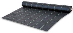 Черная агроткань 100г/м2 размер 5,15х100м