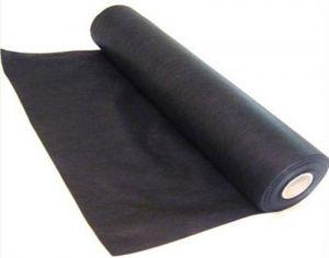 Агроволокно черное (мульча), плотность 60г/м²