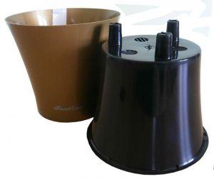 Горшок с дренажной системой АРТЕ 1,2 л