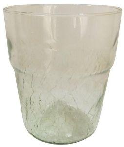 Горшок для орхидей, стекло, Ø13см (прозрачный)