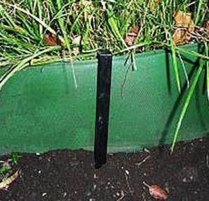Колышки садовые пластиковые