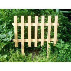 Декоративный заборчик деревянный 75х50 см