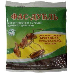 Фас-Дубль от муравьев, тараканов, клопов, блох, мух