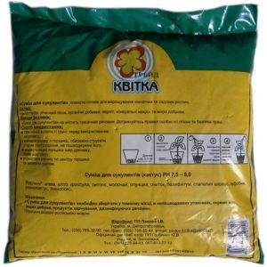 Грунт Квитка для кактусов (1 литр)