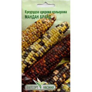 Кукуруза сахарная цветная Мандан Брайд