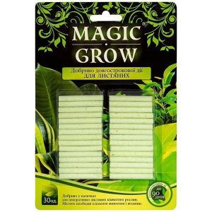 Удобрение Magic Grow длительного действия для лиственных растений 30 шт