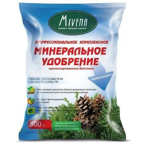 Удобрение Mivena Field-Cote для хвойных растений 500 г