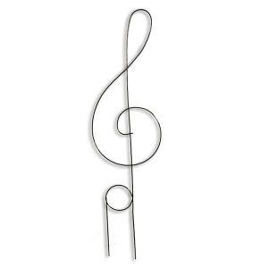 Опора для цветов Скрипичный ключ