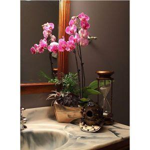 Опора для цветов Орхидея одинарная