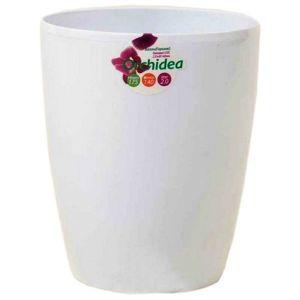 Вазон для орхидей белый 2 л