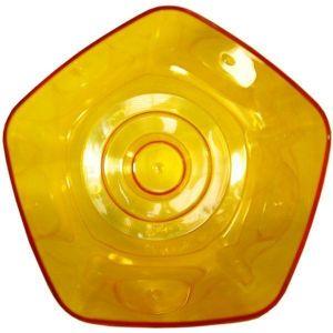 Кашпо для орхидей Пента, d13, желтый