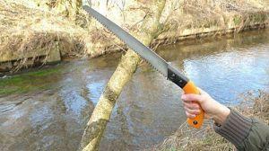 Ножовка садовая Truper складная