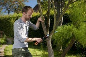 Ножовка садовая Truper прямая