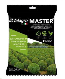 Удобрение Master (Мастер) для Самшита и вечнозеленых кустарников 25 г