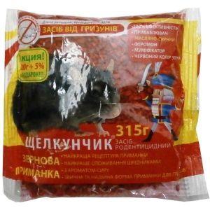 Щелкунчик от грызунов масляно-сырный