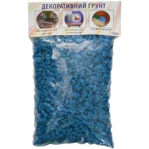 Грунт декоративный Дім Сад Город плюс голубой 0,7 кг