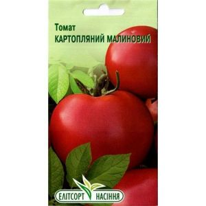 Томат Картофельный Малиновый