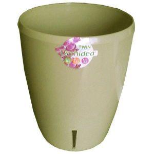 Вазон TWIN орхидея песочный, 2 литра