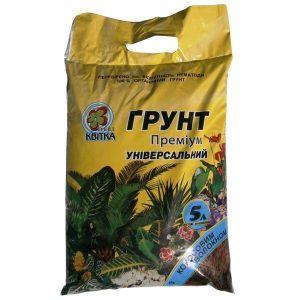 Грунт Квитка универсальный с кокосовым волокном (5 литров)