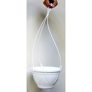 Вазон Лилия подвесная белый 4 литра