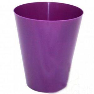 Горшок Вулкано-Орхидея, фиолетовый