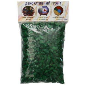 Грунт декоративный Дім Сад Город плюс зеленый 0,7 кг